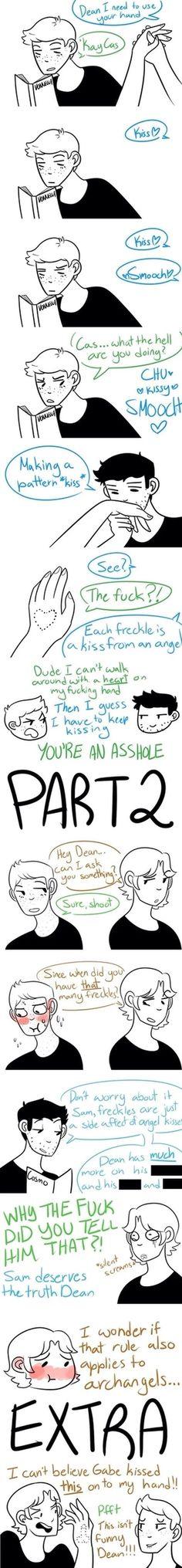 Oh my god XD boys and their Angels..*sigh*