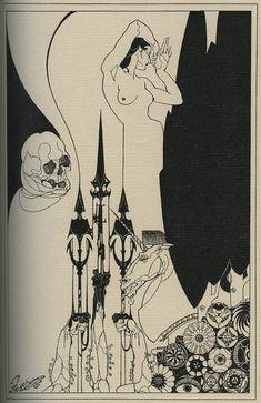 Artist:Baron Hans Henning Voigt (Alastair) 1887-1969 Art Inspo, Art Nouveau Illustration, Vintage Illustration Art, Girl Illustrations, Arte Van Gogh, Jugendstil Design, Wow Art, Alphonse Mucha, Black And White Illustration