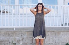 Dress Extender Slip, Lace Detail, High Low, Cream, Street, My Style, Shirt, How To Wear, Outfits