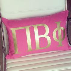 Pi Beta Phi pillow! #piphi #pibetaphi
