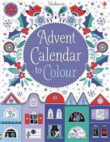 Buy Advent Calendar to Colour by Stella Baggott at Mighty Ape Australia. A fold-out advent calendar featuring a black and white street scene, to colour a bit each day in the run-up to Christmas. There are doors and windows . Homemade Advent Calendars, Advent Calendars For Kids, Kids Calendar, Calendar Ideas, Christmas Planning, Christmas Countdown, Christmas Books, Christmas Crafts, Christmas Ideas
