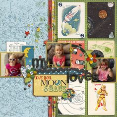NEW to SSD 2/22: Cindy's Layered Cards: EVERYDAY 10 by Cindy Schneider  Out Of This World Kit by Jenn Barrette Out Of This World: 3x4 Cards Little Sew & Sew Lines by Erica Zane  Lift of scrappydonna's I am on Cloud 9