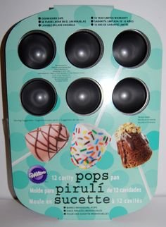 cupcake pops pan CAKE POPS cakepops pan