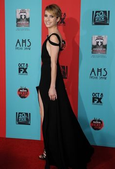 Emma Roberts @ 'American Horror Story: Freak Show' premieres at the TCL Chinese Theatre.