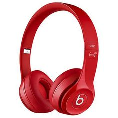 #Beats by Dr. Dre Solo2 HD On-Ear #Headphones - #Red
