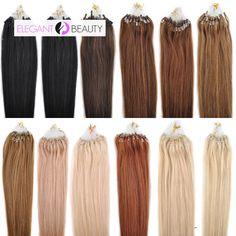 Mega Hair Microlink Cabelo Humano Liso 61 Cm 100 Mechas 70 Gramas Cores #1 /#1B /#02 /#04 /#06 /#08 /#12 /#24/ #27 /#33 /#60 /#613 //Price: $329.00 & FREE Shipping