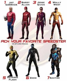 The Flash for me! Comment below who your fav is!