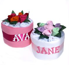 Personalised Nappy Cake