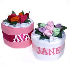 Personalised Nappy Cake