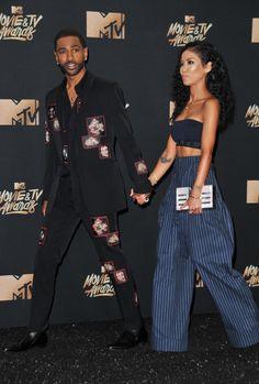 . @otpstreetstyles  May 8  More   Jhene Aiko & Big Sean // #MTVAwards