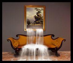 Wall waterfall by PitPistolet.deviantart.com on @deviantART