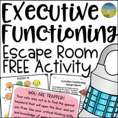 FEE Executive Functioning Escape Room Activity