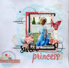 All About Scrapbooks - Kaisercraft XO Collection by Fiona Johnstone