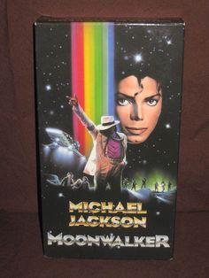 MICHAEL JACKSON MOONWALKER VHS (1988)