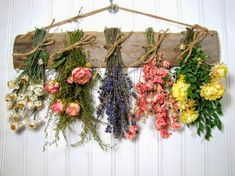 #hanging #dry #flowers
