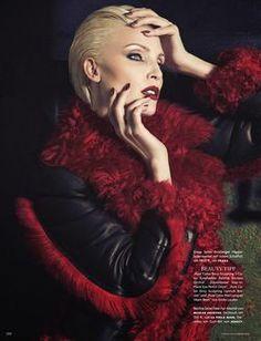 Nadja Auermann by Luigi+Iango for Vogue Germany November 2014 1