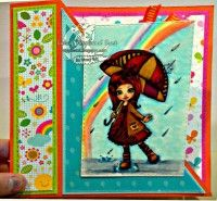 Hoping April Showers Fable Brings May Flowers:) #digitalstamps #coloringpages #fairies