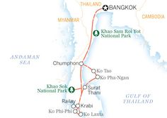 First-timer island hopping   Itinerary   Thailand - Lonely Planet Visa