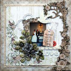 Heartfelt Creations - Love Layout Project