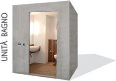 Bagni prefabbricati Bathsystem - Unità bagno