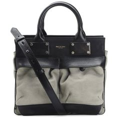 Rag & Bone Small Pilot (4.935 ARS) ❤ liked on Polyvore featuring bags, handbags, accessories, taupe, structured satchel handbag, top handle satchel, handbag satchel, satchel handbags and satchel bag