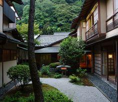 Hiratakan Annex Building. ( NIshimuraya Honkan, Kinosaki Onsen, Japan. )