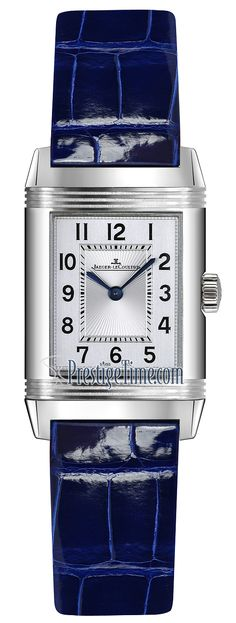 26684ab Ivy Blue Christian Louboutin Jaeger LeCoultre Reverso Duetto Ladies Watch Jaeger Lecoultre Reverso, Jaeger Lecoultre Watches, Baume Mercier, Gym Tank Tops, Blue Tones, Stainless Steel Case, Black Print, Fashion Ideas, Christian Louboutin