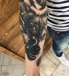 Cris - Black & Grey, Realistic, Portrait Tattoos - Sake Tattoo Crew