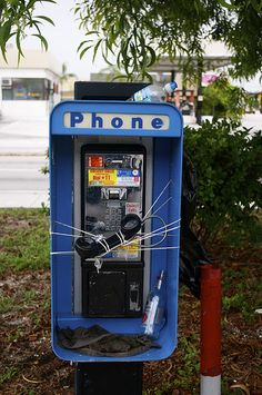 death of the pay phone.