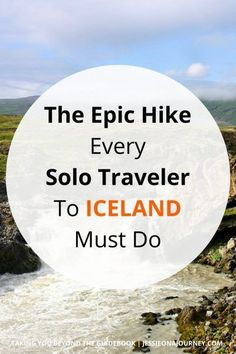 The Iceland Hot Springs Hike You Don't Want To Miss | Iceland Adventure & Hiking