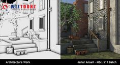Student Work – 3D Architecture Work – by Jahur Ansari of MSc.S11 batch   #3DArchitecture #3D #Architecture #Multimedia