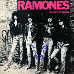 Ramones - Rocket to Russia - But she couldn't stay....She had to break away......#InfluencialAlbums