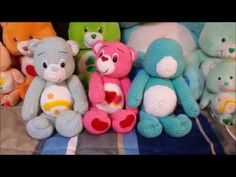 Amigurumi crochet Care Bear tutorial part 4, My Crafts and DIY Projects