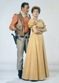 Maureen O'Hara - McLintock - such great chemistry with John Wayne