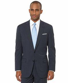 BrooksCool® Blue Tic Regent Fit Suit - Brooks Brothers