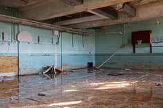 Abandoned Detroit School