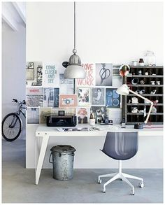 mood board workspace