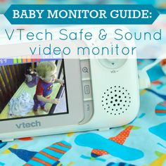 Daily Mom » Baby Monitor Guide: VTech Safe & Sound Video Monitor