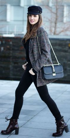 #Masculine #Checked #Coat by LadyAddict
