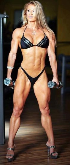 The Extrondinary League of Sexy Muscle Women