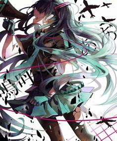 Hatsune Miku ~ Love is War #vocaloid