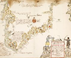 "This map of Greenland is by Hans Poulsen Egede (1686–1758), the Norwegian-born Lutheran clergyman and missionary known as the ""Apostle of Greenland."""