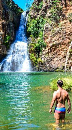 O que fazer na Chapada dos Veadeiros: o complexo de Cachoeiras do Macaquinho é um dos passeios menos conhecidos, mas imperdível