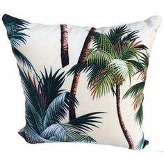 Palm Tree Cushion Cover by Vintage Beach Shack. Get it now or find more Indoor Cushions at Temple & Webster. Cream Cushions, Cushions Online, Beach Shack, Tropical Style, Classic Furniture, Soft Furnishings, Xmas Gifts, Palm Trees, Bar