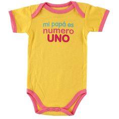 Baby Sayings Bodysuit - Spanish Girl