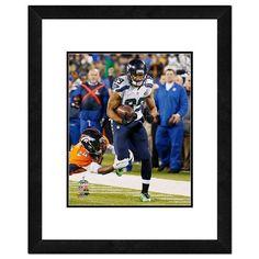 "Seattle Seahawks Doug Baldwin Super Bowl Xlviii Framed 14"" x 11"" Player Photo, Multicolor"