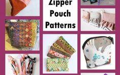 10 Free Zipper Pouch Patterns