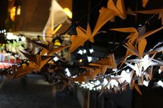 Luminous Birds Art Installation by Kathy Hinde | Wye Valley AONB