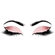 Princess Pink Makeup Artist Lashes Beauty Studio Appointment Card - Make Up Beauty Makeup, Eye Makeup, Beauty Lash, Fall Makeup, Mode Poster, Makeup Illustration, Eyelash Logo, Makeup Artist Logo, Makeup Wallpapers