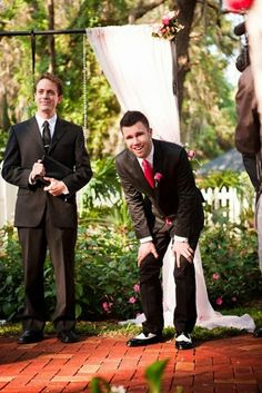 25 Best Groom Reactions Ever a la Pinterest!  My favorite part...looking at him while the bride walks down the aisle
